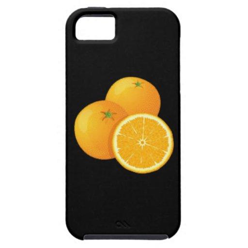 Caja anaranjada del iPhone 5 iPhone 5 Funda