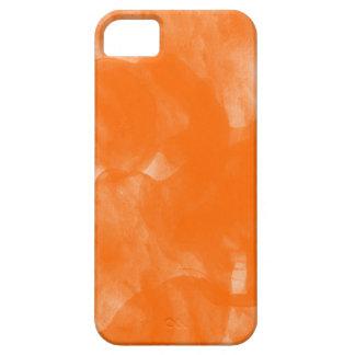 caja anaranjada del iphone de la pintura del color iPhone 5 protector