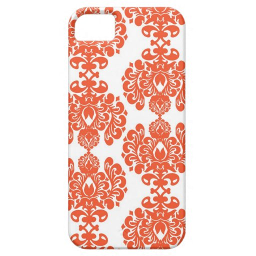 Caja anaranjada del iPhone del damasco Funda Para iPhone SE/5/5s