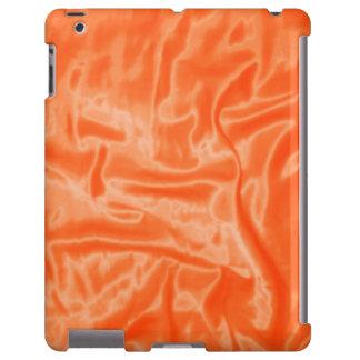 Caja anaranjada del Satén-iPad