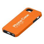 Caja anaranjada del teléfono para el iPhone 5 iPhone 5 Protectores