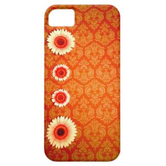 Caja anaranjada quemada del iPhone 5 de las Funda Para iPhone SE/5/5s