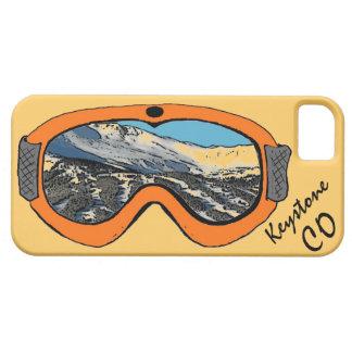Caja anaranjada trapezoidal del iphone 5 de las iPhone 5 fundas