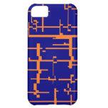 Caja anaranjada y azul de IPhone 5