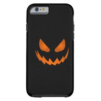 Caja anaranjada y negra del iPhone 6 de la Funda De iPhone 6 Tough