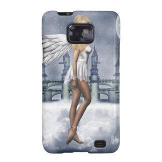 Caja angelical de la galaxia de Samsung Samsung Galaxy SII Funda