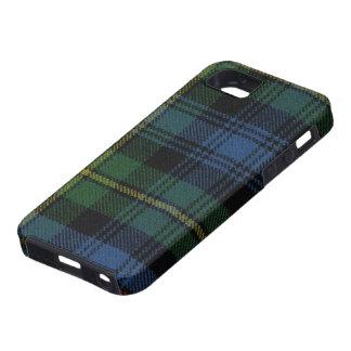 caja antigua de la impresión del tartán de Baillie iPhone 5 Case-Mate Protectores