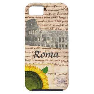Caja antigua del girasol de Roma iPhone 5 Carcasas