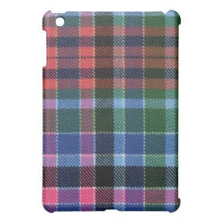 Caja antigua roja del iPad del tartán de Gordon