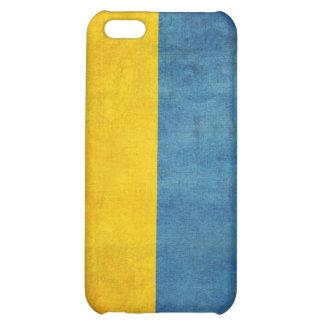 Caja apenada bandera del iPhone 4 de Ucrania