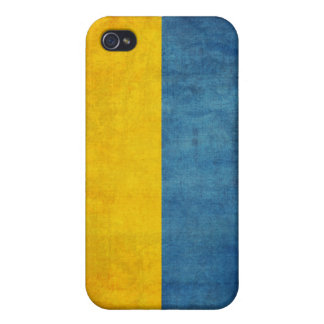 Caja apenada bandera del iPhone 4 de Ucrania iPhone 4 Carcasa