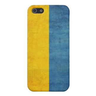 Caja apenada bandera del iPhone 4 de Ucrania iPhone 5 Coberturas