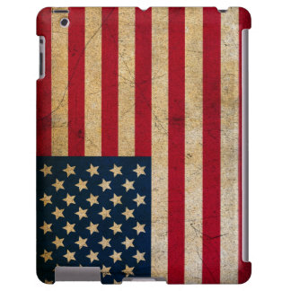 Caja apenada de la bandera americana