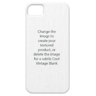 Caja apenada de la textura del espacio en blanco funda para iPhone SE/5/5s