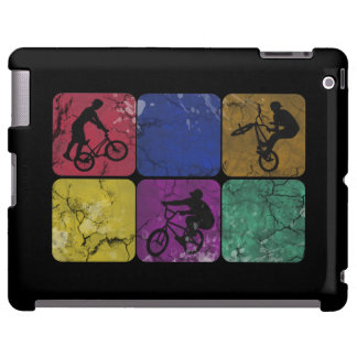 Caja apenada del iPad del motorista del estilo lib