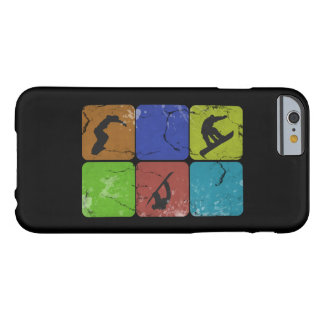 Caja apenada del iPhone 6 de la snowboard