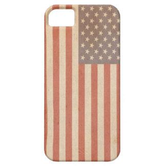 Caja apenada del iphone de la bandera americana iPhone 5 Case-Mate protectores