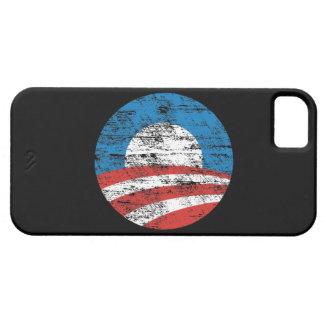 Caja apenada logotipo del compañero del caso del iPhone 5 fundas
