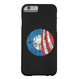 Caja apenada logotipo del iPhone 6 de Obama Funda Barely There iPhone 6