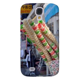 Caja apilada de Samsung S4 de los conos de helado Samsung Galaxy S4 Cover
