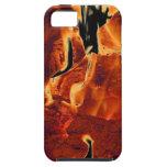 Caja ardiente de las llamas iPhone-5 iPhone 5 Case-Mate Cobertura