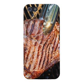 Caja asada a la parrilla del iPhone del filete iPhone 5 Carcasas
