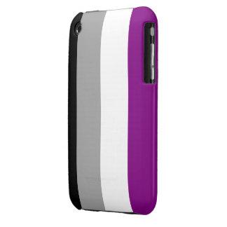 Caja asexual de la bandera iPhone 3 carcasas