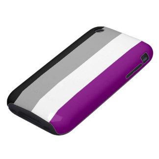 Caja asexual de la bandera iPhone 3 tough carcasa