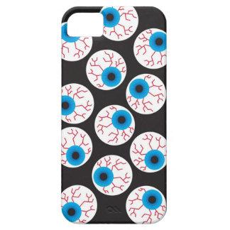 Caja asustadiza de la casamata de los ojos de iPhone 5 fundas