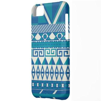 Caja azteca azul y blanca linda de Iphone 5