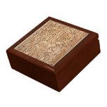 Caja azteca del diseño cajas de recuerdo