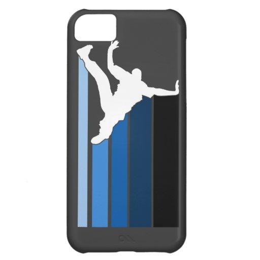 Caja azul/blanca de la pendiente de BBOY del iPhon