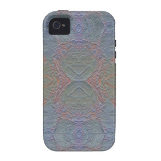 Caja azul brillante de mármol del iPhone 4 del mod iPhone 4/4S Funda