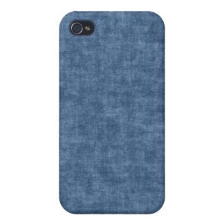 Caja azul brillante del iPhone del grunge iPhone 4/4S Carcasas