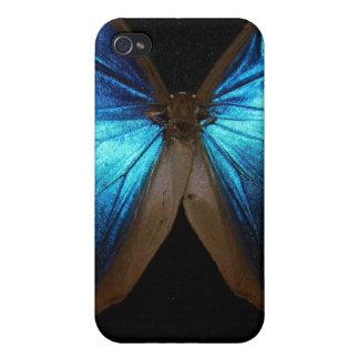 Caja azul brillante del teléfono iPhone 4 coberturas