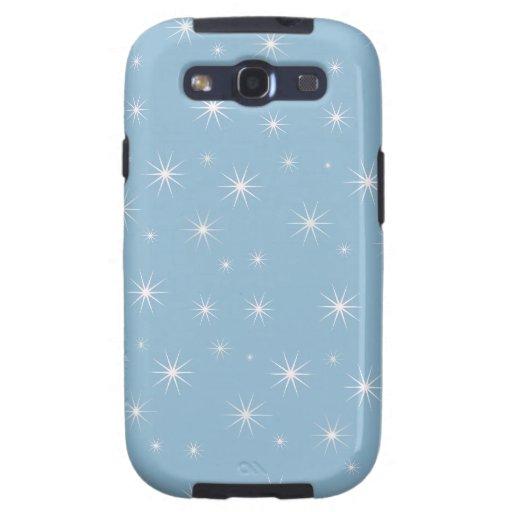 Caja azul clara de la galaxia S 3 de Samsung de la Samsung Galaxy S3 Coberturas