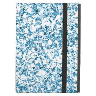 Caja azul clara del aire del iPad del brillo