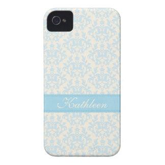 """Caja azul clara y poner crema iphone4 de """"su"""" iPhone 4 protector"""
