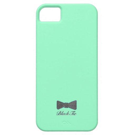 Caja azul costera de BlackTies Iphone5 iPhone 5 Fundas