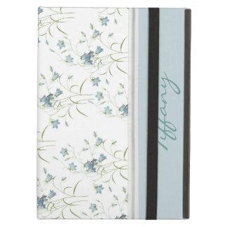 Caja azul de encargo del aire del iPad de Belces