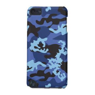 Caja azul de encargo del tacto de Camo iPod Funda Para iPod Touch 5G