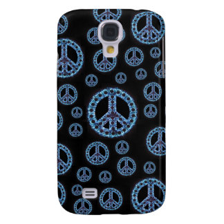 Caja azul de IPhone 3 de la Multi-Paz