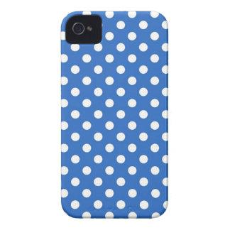 Caja azul de Iphone 4 4S del lunar del dril de alg iPhone 4 Case-Mate Carcasa