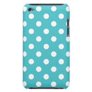 Caja azul de IPod del lunar de Curaçao iPod Touch Protector