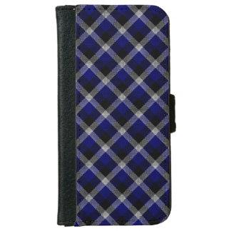 Caja azul de la cartera del iPhone 6 de la tela Carcasa De iPhone 6