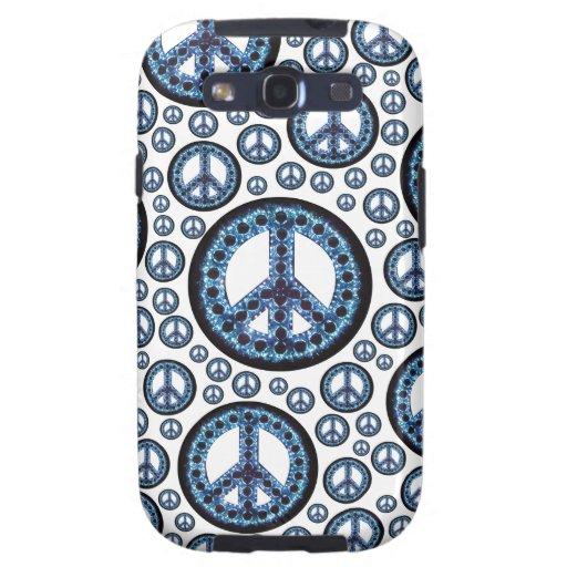 Caja azul de la galaxia de Samsung de la Multi-Paz Galaxy S3 Cobertura