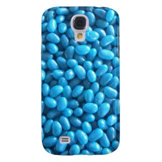 Caja azul de la galaxia S4 de Samsung de la haba Funda Samsung S4