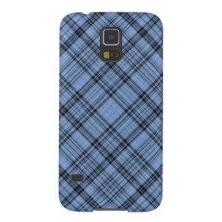Caja azul de la galaxia S5 de Samsung de la tela Funda De Galaxy S5