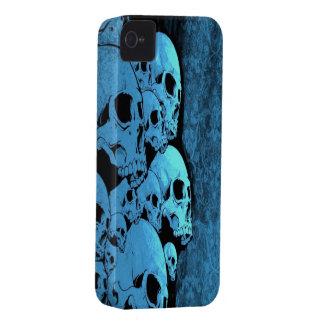 Caja azul de la identificación del compañero del i iPhone 4 protector