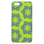 Caja azul de la mota del iPhone 4/4S del copo de n